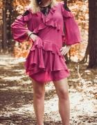 Ciemno różowa sukienka by o la la...