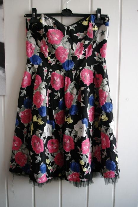 Sukienka kwiaty floral studniówka wesele serduszko...