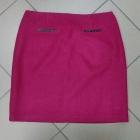 Amarantowa spódnica wełna wełniana Marks&Spencer 42