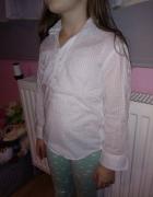 bluzka koszula w kropeczki elegancka...