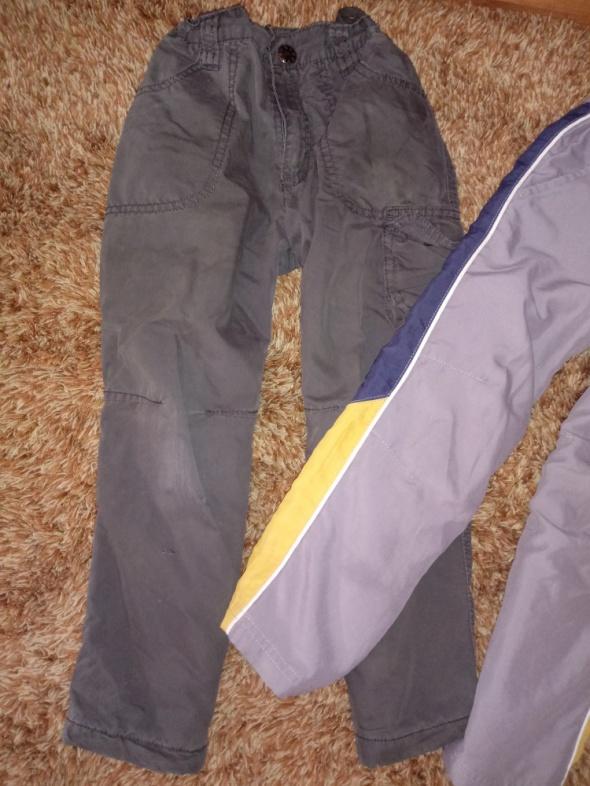 spodnie dla chłopca dwie pary...