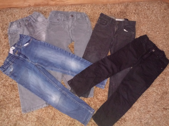 5 par spodni...