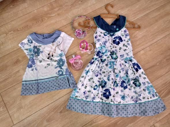 Sukienki i spódniczki sukienka i bluzeczka KENZO Kids