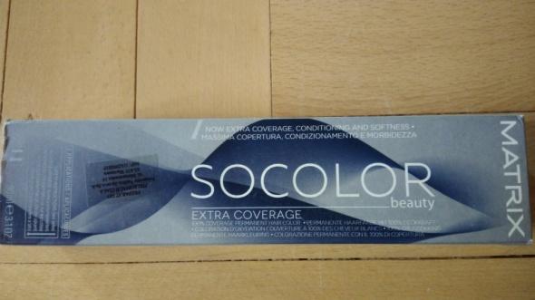Farba do włosów Matrix Socolor extra coverage brąz