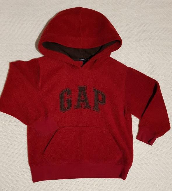 GAPkids czerwona bluza z kapturem