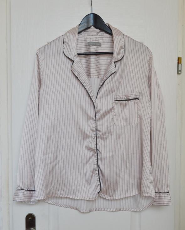 Koszula piżama piżamowa satyna satynowa oversize minimalizm  8eNPE
