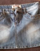Dzinsowa spodnica...