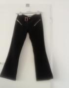 Spodnie sztruksy szerokie nogawki...