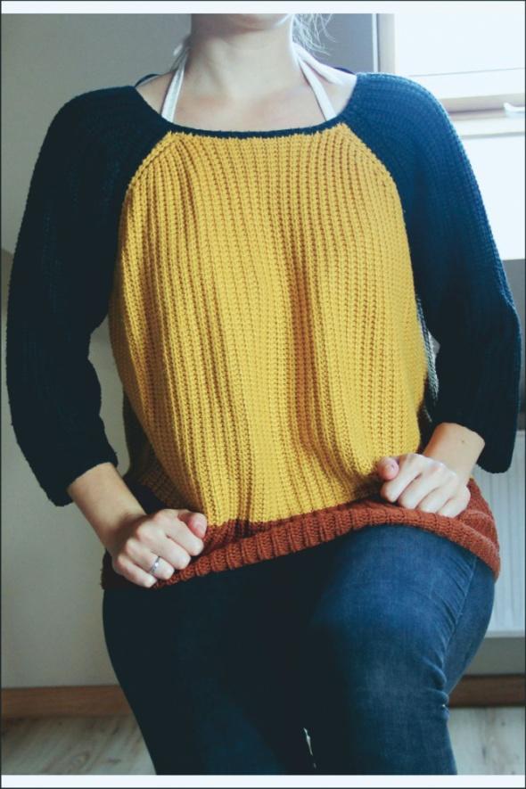 Jesienny sweter...