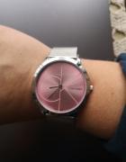 Calvin Klein stylowy zegarek na rękę pink...