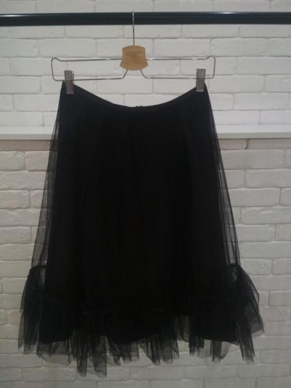 Czarna tiulowa spódnica 38...