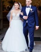 Suknia ślubna Milla Nova Chelsi Ivory 36 38