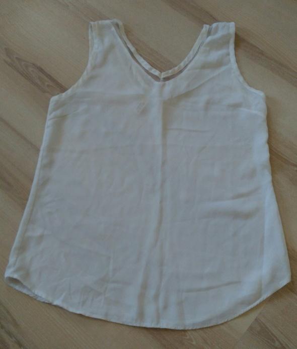 Bluza biała ecri Design by Korea siateczka rozmiar xs S okazja