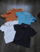 Cztery kolory koszulki polo 98...