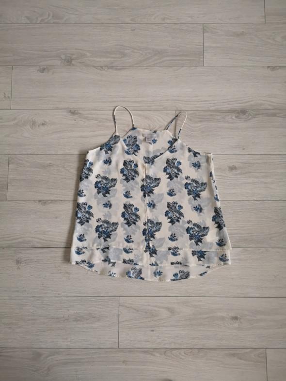 Top na ramiączkach H&M luźna bluzeczka XS S