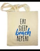 Torba bawełniana plażowa miejska z napisami...