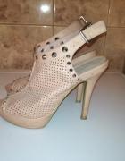 Szpilki sandały damskie 36...