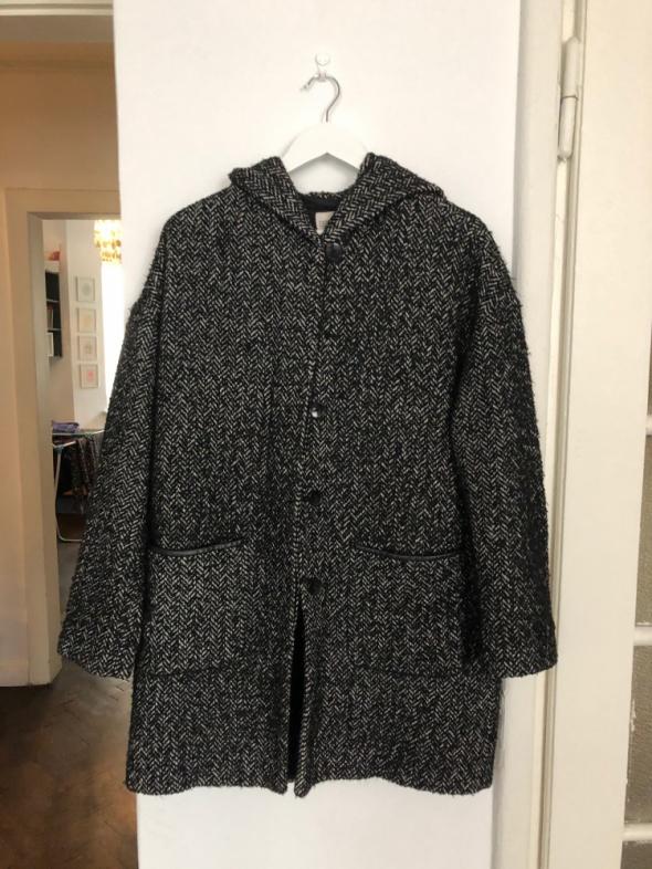 Płaszcz Esprit Czarny melanż