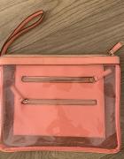 Neonowa torebka kopertówka...