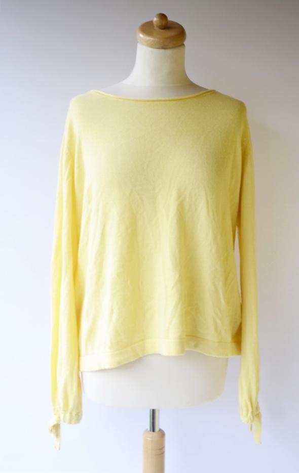 Sweter Oversize Cubus L 40 Luzny Sweterek Żółty...