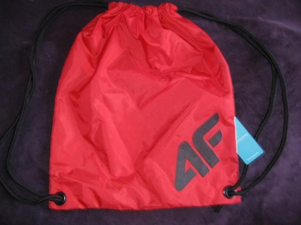 Plecaki Worek plecak czerwony 4F