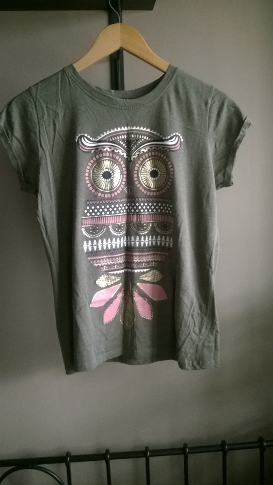 Koszulki Koszulka sowa new yorker bawełniana