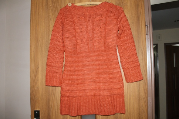Sweter rudy NOWY