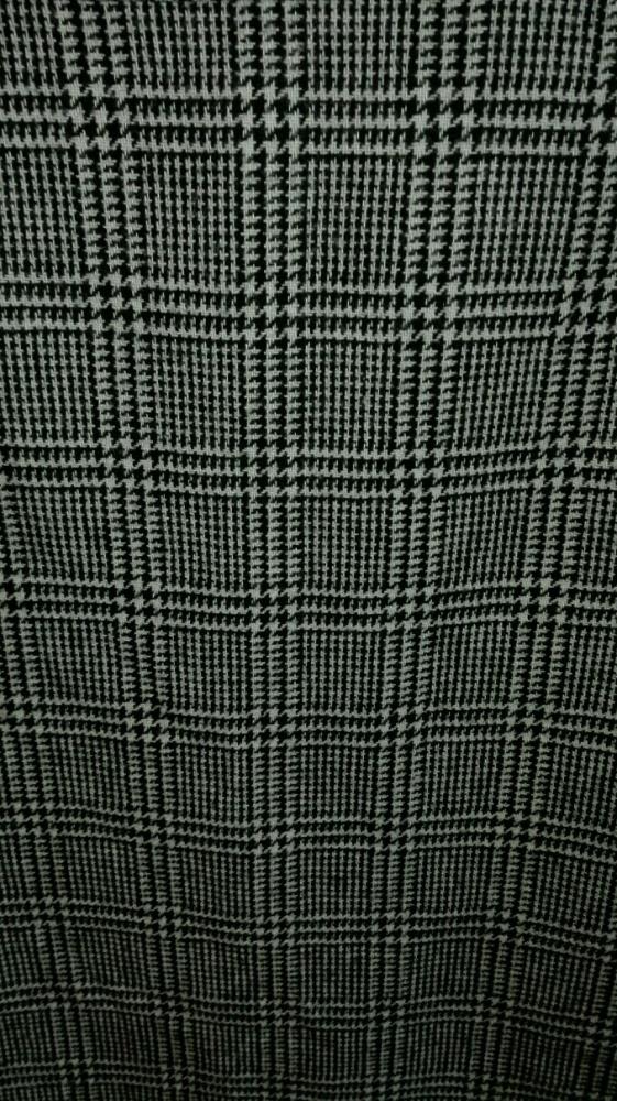 Spódnica midi w kratę