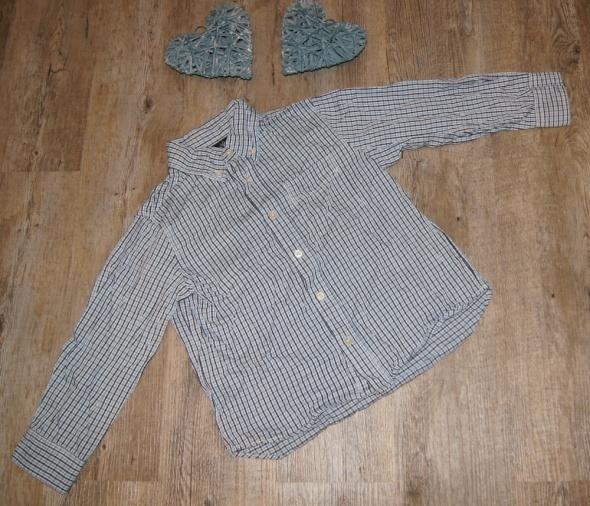 Pozostałe Koszula chłopiec kratka H&M rozm 116