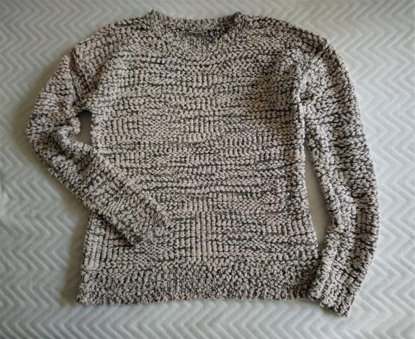 Swetry Sweter z pęczkowanej włóczki S Noisy may