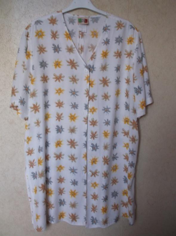 Biała bluzka w kwiaty Gina Benotti 42...