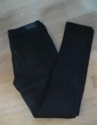 spodnie jeans rurki LEVIS 27 czarne L27 W30...