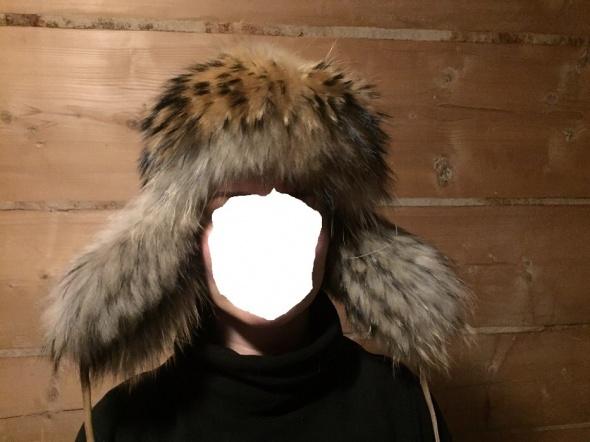 Naturalna czapka Jenot i skóra barania Nowa okazja