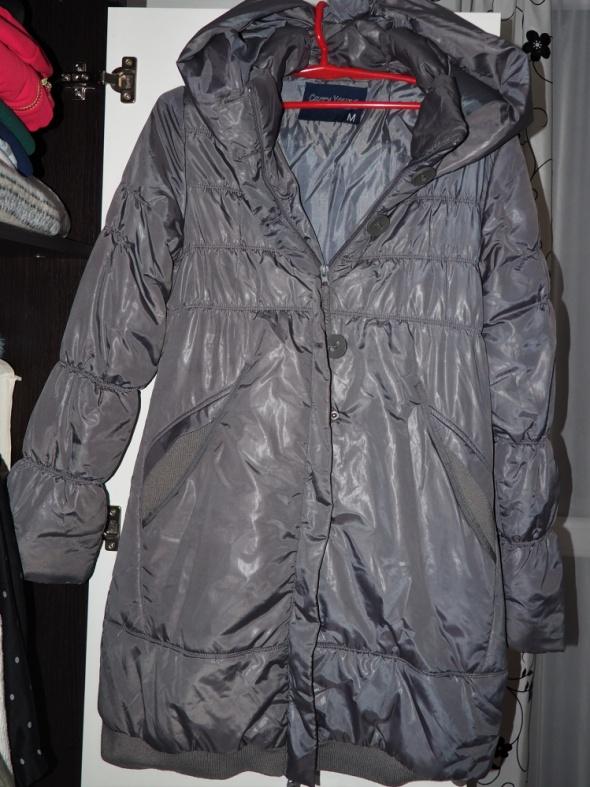 Zimowy Płaszcz Carry M kolor stalowy