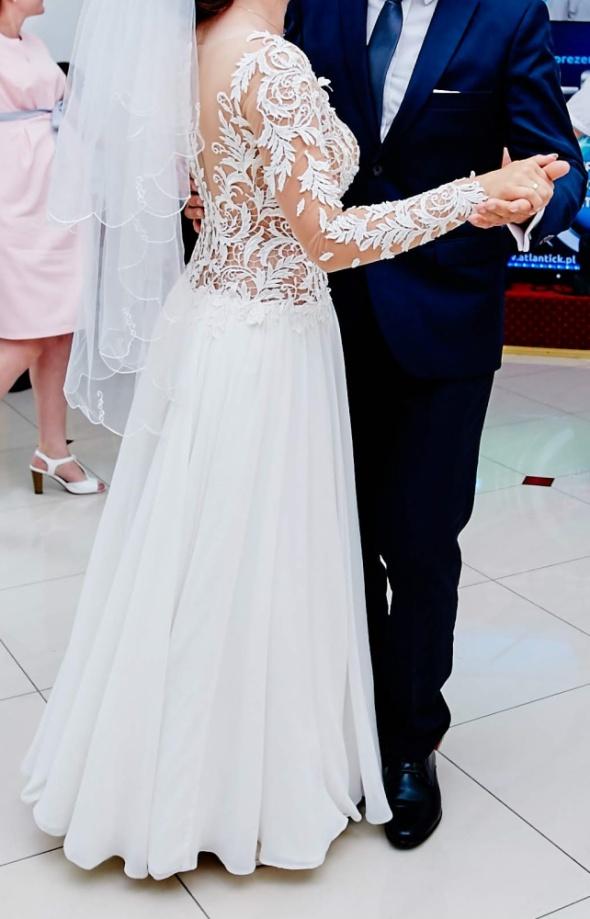 Suknie ślubne Suknia ślubna rozmiar 34 36 kolor Ivory