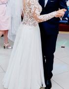 Suknia ślubna rozmiar 34 36 kolor Ivory...