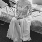 Suknia ślubna rozmiar 34 36 kolor Ivory