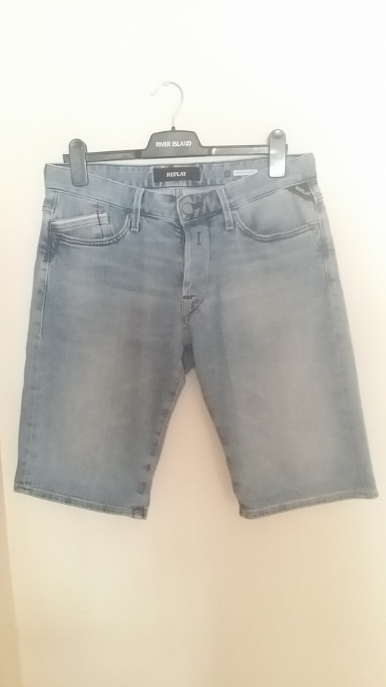 Spodenki Replay jeansy