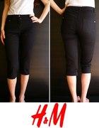 Czarne spodnie rybaczki h&m 34 xs...