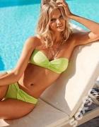 Seledynowy strój kąpielowy bikini h&m xs 34...