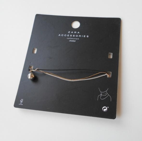 Zara nowy naszyjnik choker łańcuszki