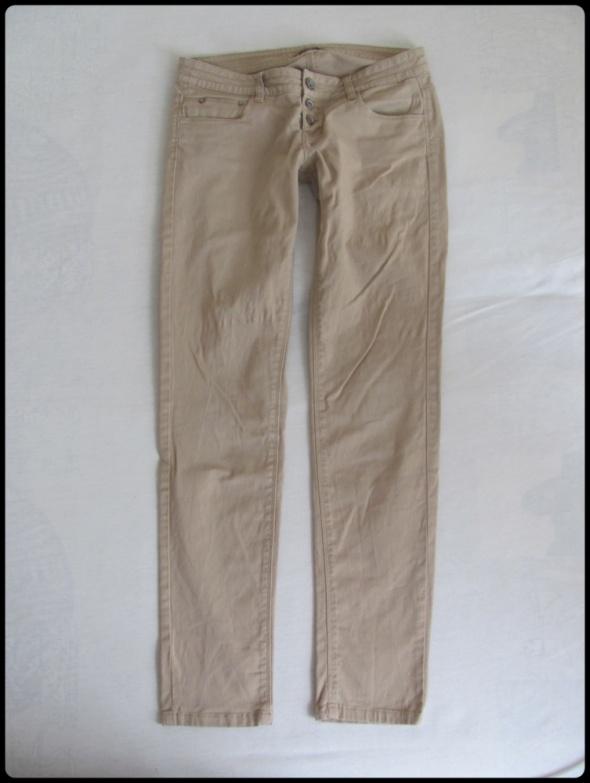 Spodnie beżowe damskie TERRANOVA rozmiar M 38...