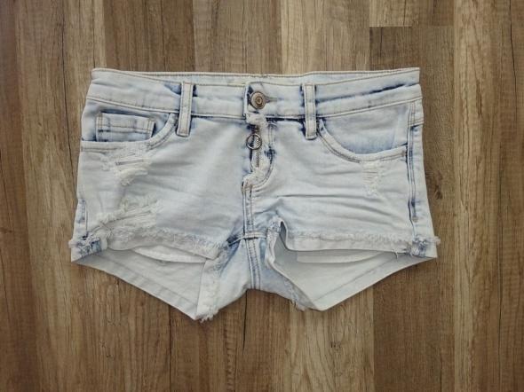 Tally Weijl jeansowe krótkie jasne spodenki 34 XS...