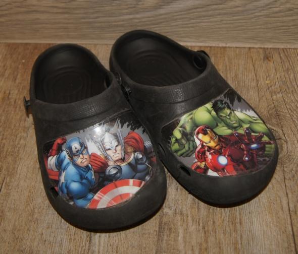 Buty crogsy klapki Avengers rozm 30...