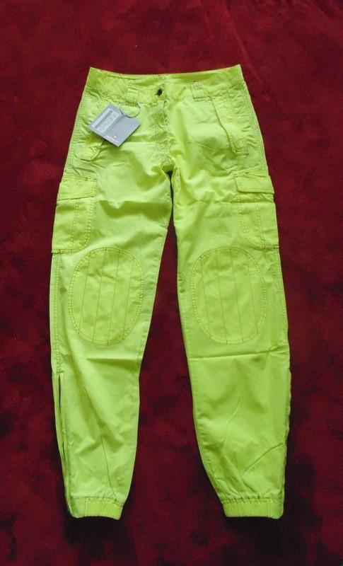 Neonowe spodnie 31 nowe