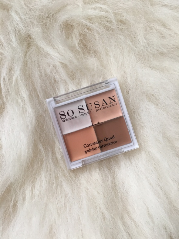SO SUSAN COSMETICS Korektory Concealer Quad