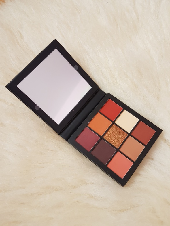 Huda Beauty Warm Brown Obsessions Paleta cieni Oryginał