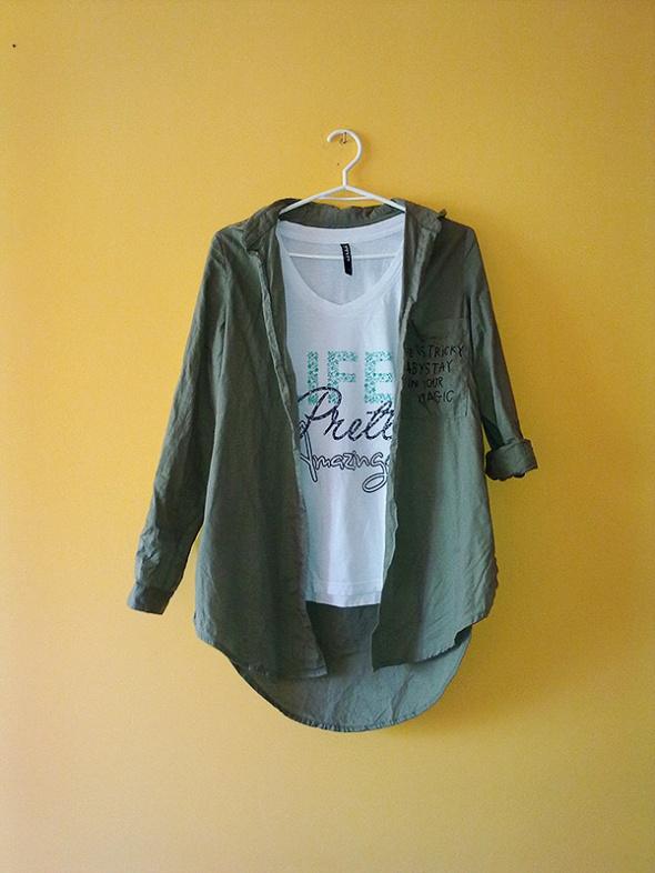 Koszula khaki Reserved...