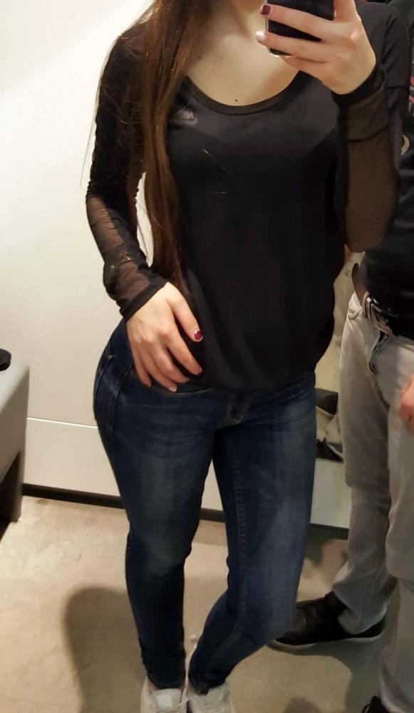 Czarna bluzka NIKE S
