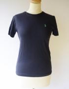 Bluzka Granatowa T Shirt Koszulka Ralph Lauren M 38...